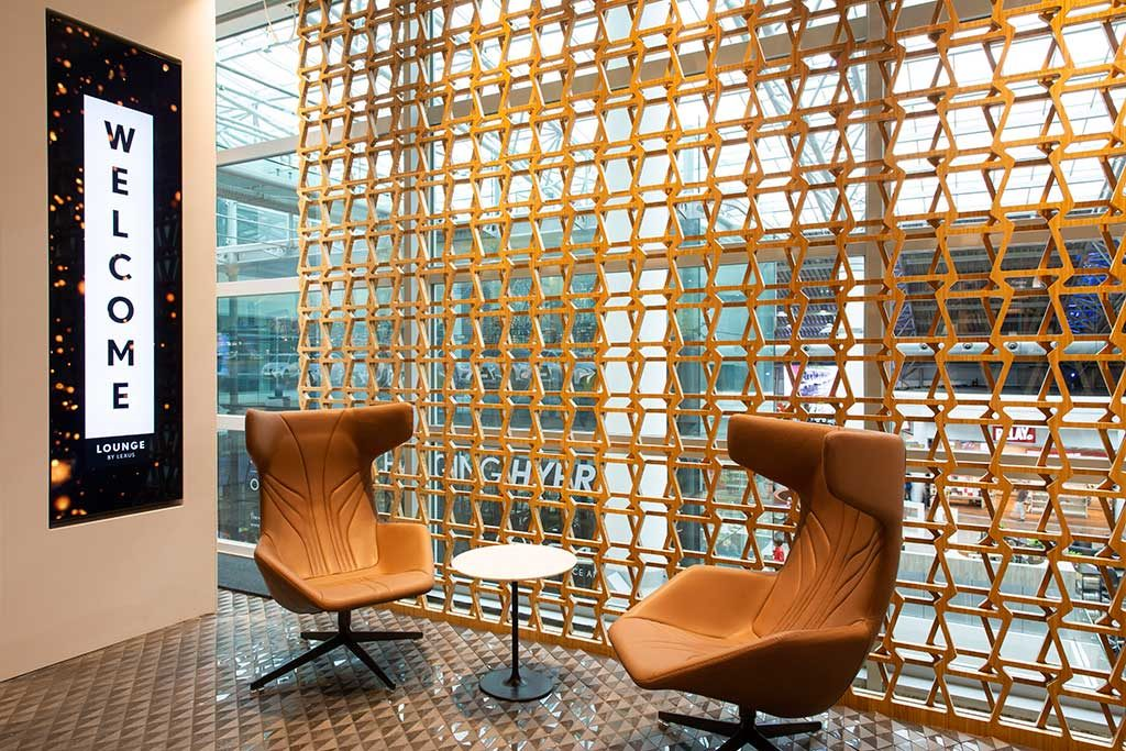 lounge by lexus - aeroport bruxelles