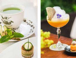 cocktails High Garden & Sweet Mandarin
