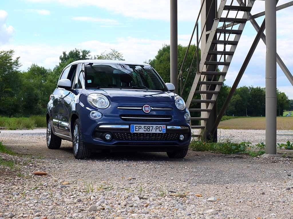 Fiat 500L en test