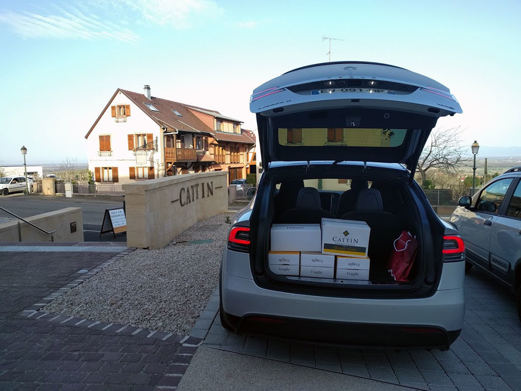 Visite cave vins Cattin Alsace