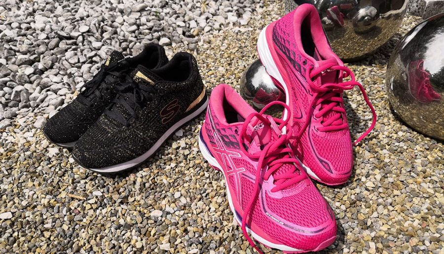 Des sneakers / baskets comme signature (ou l'histoire des baskets roses de miss280ch)