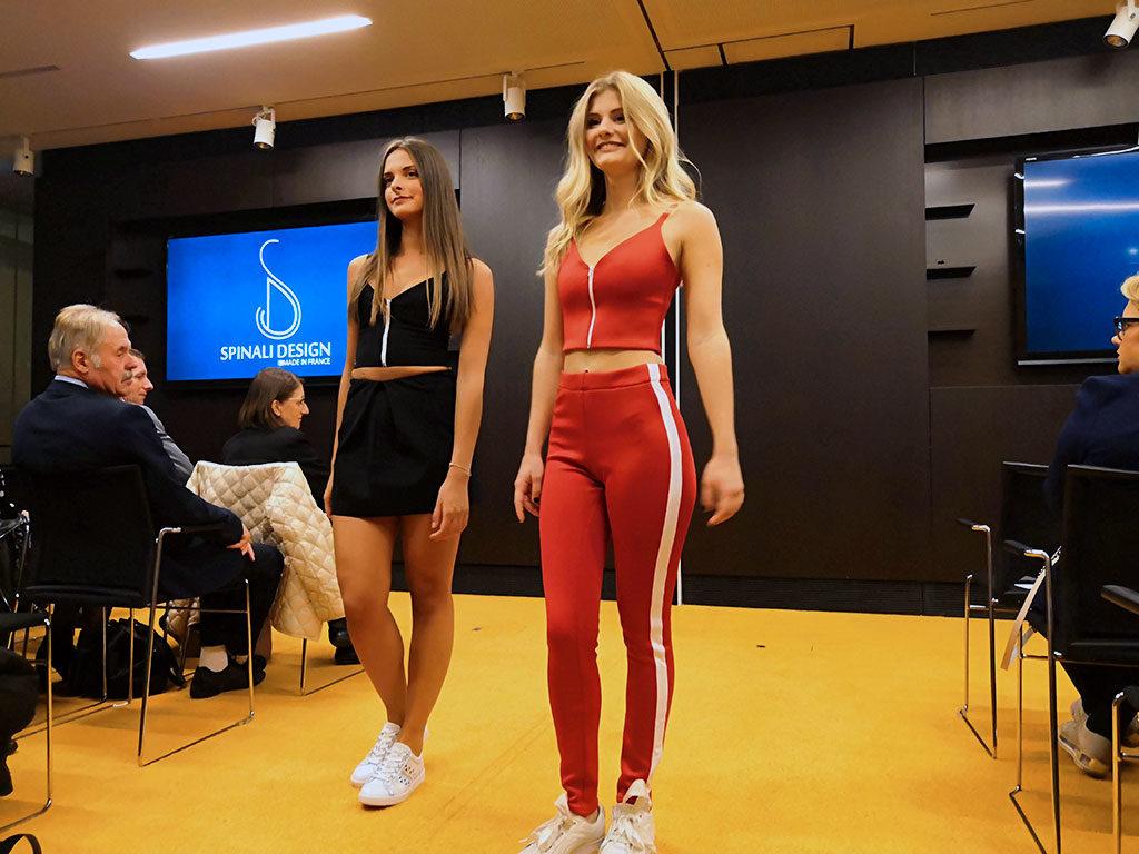 Spinali Design défilé 2018 Sport