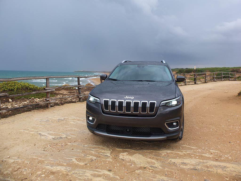 Jeep Cherokee en Sicile