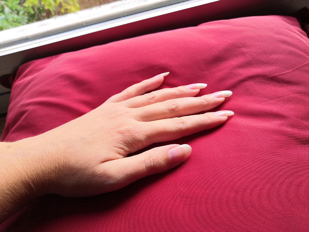 mes ongles longs naturels