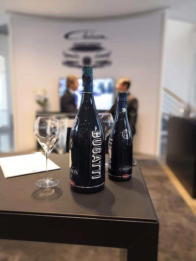 Champagne Carbon partenariat Bugatti