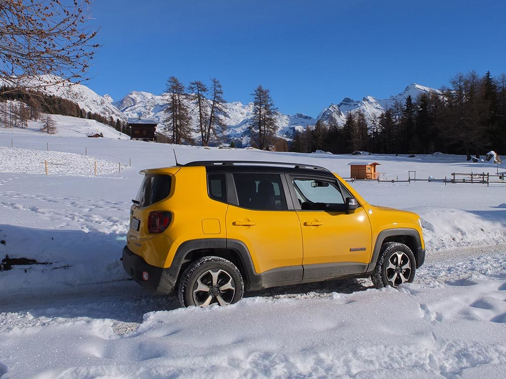 Jeep Renegade - Jeep Winter Experience Champoluc