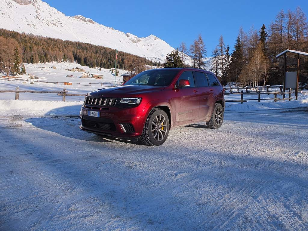 Jeep Grand Cherokee Trackhawk - Jeep Winter Experience Champoluc