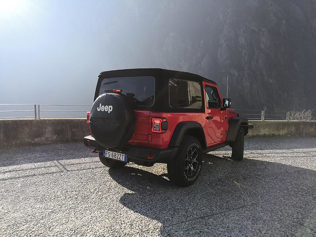 Jeep Wrangler - Jeep Winter Experience Champoluc