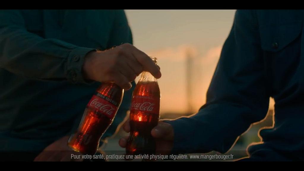 pub coca cola 100ans ensemble
