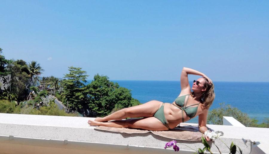 La nouvelle génération de maillots de bain Spinali Design à l'essai