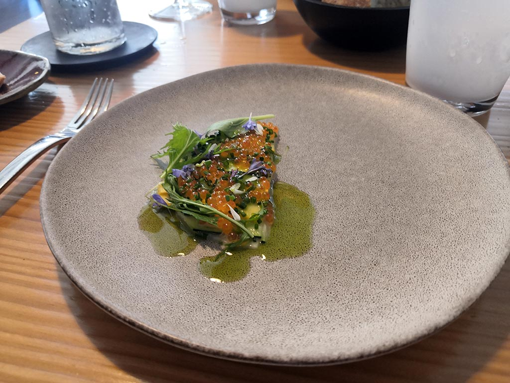 Restaurant l'Alchémille à Kaysersberg - menu carte blanche au chef